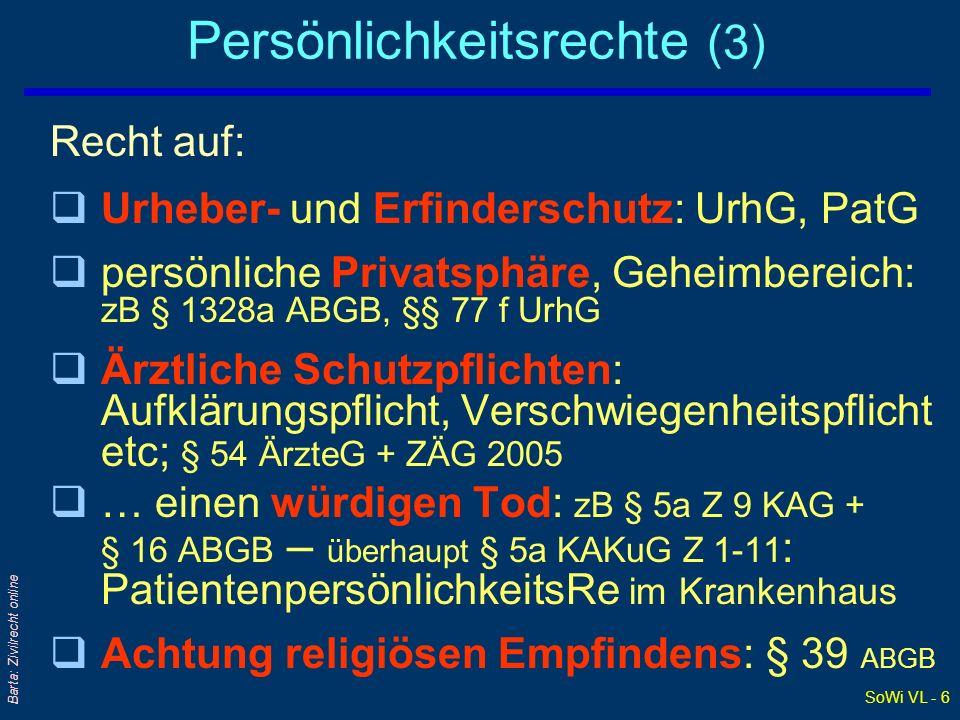 Persönlichkeitsrechte (3)