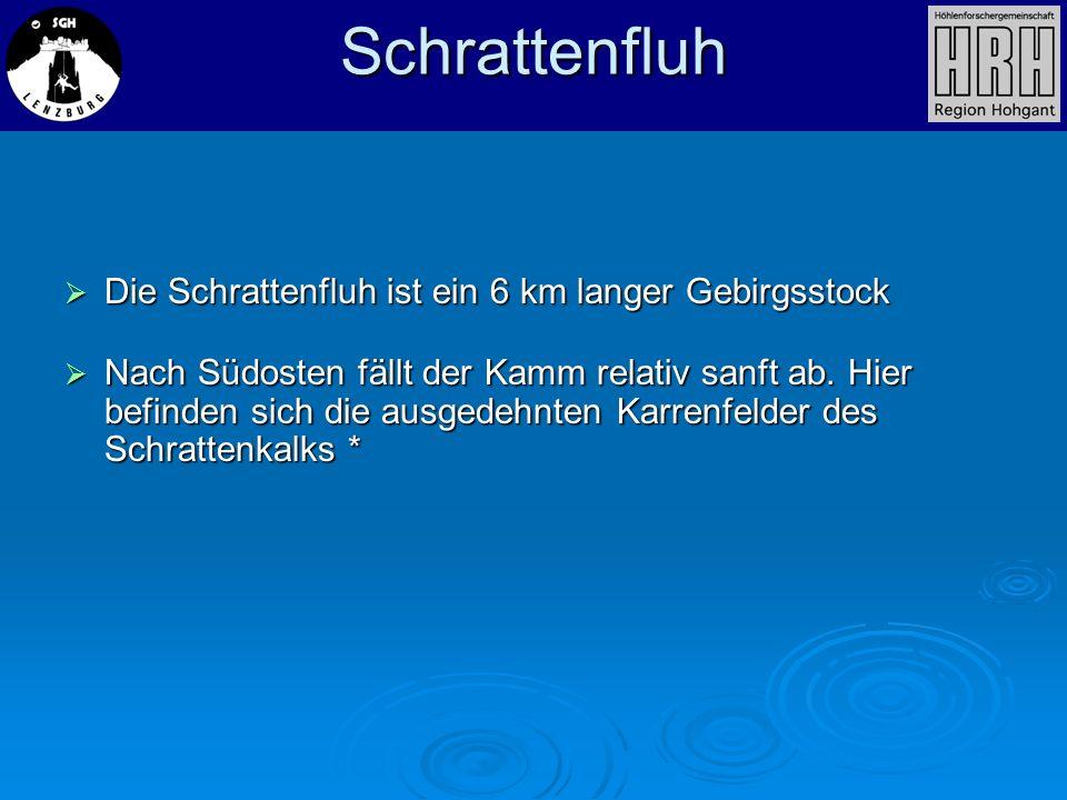 Schrattenfluh Die Schrattenfluh ist ein 6 km langer Gebirgsstock