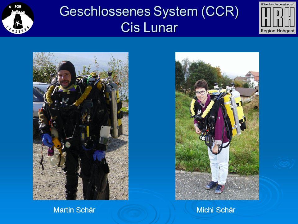 Geschlossenes System (CCR) Cis Lunar