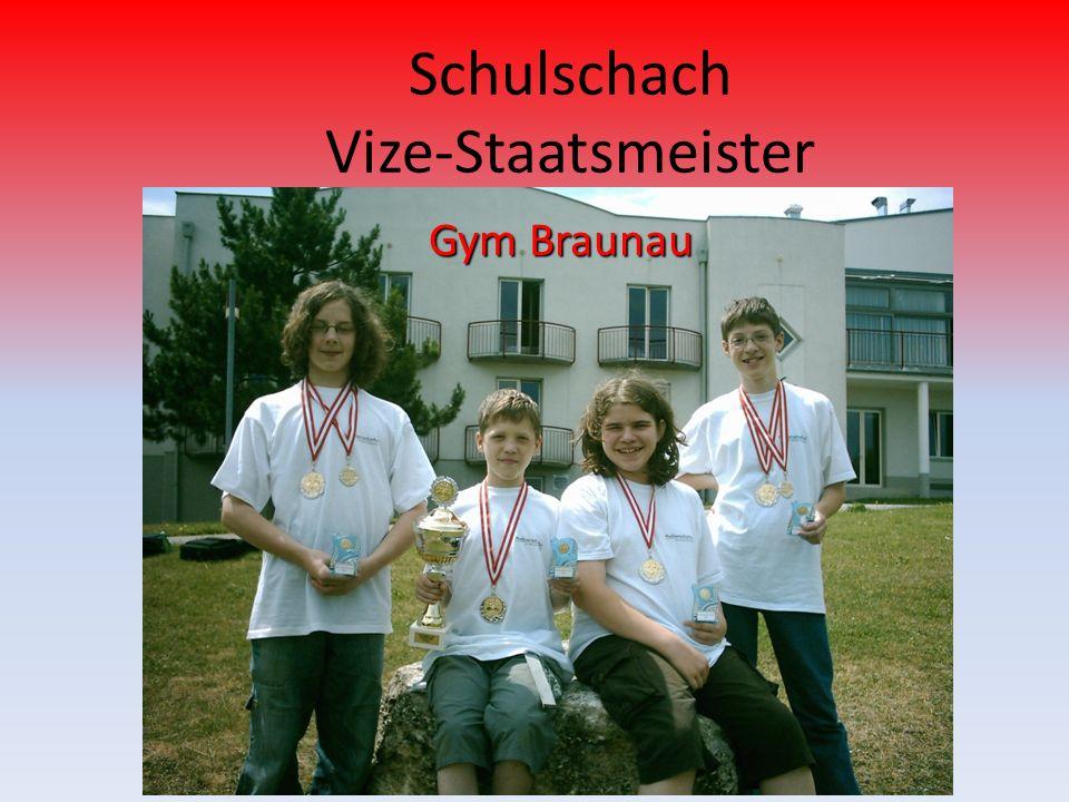 Schulschach Vize-Staatsmeister