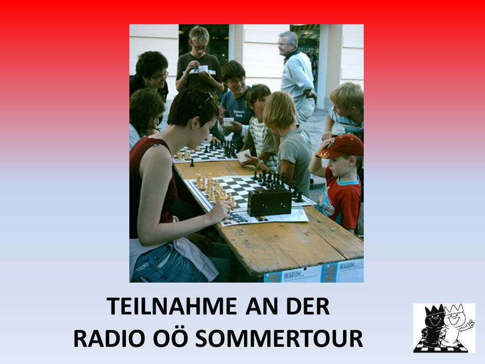 TEILNAHME AN DER RADIO OÖ SOMMERTOUR