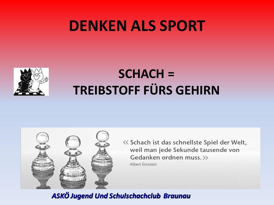 TREIBSTOFF FÜRS GEHIRN ASKÖ Jugend Und Schulschachclub Braunau