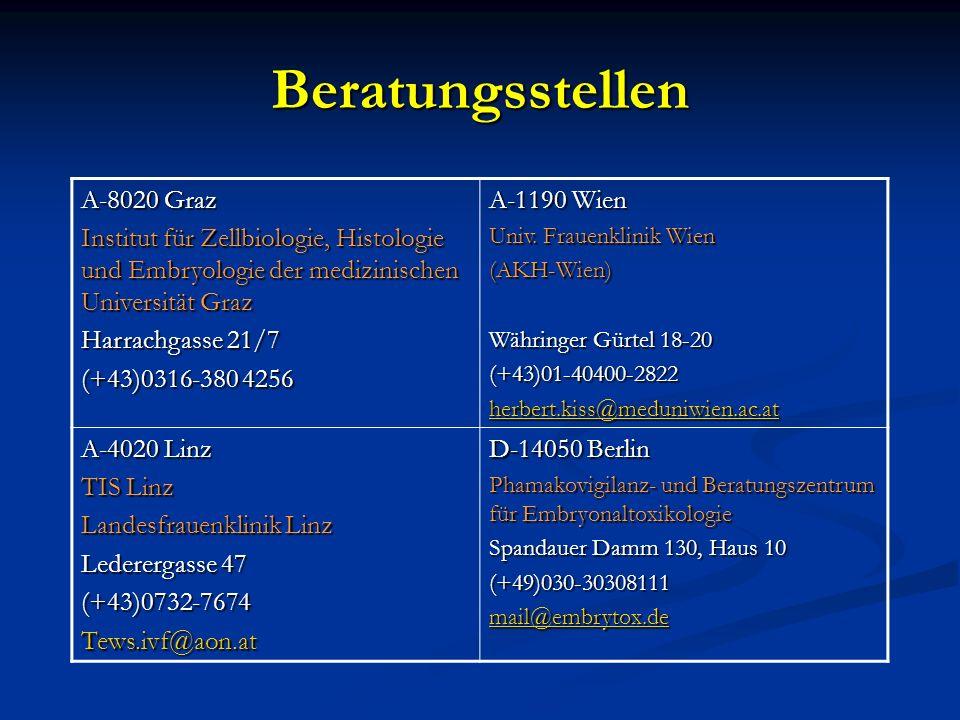 Beratungsstellen A-8020 Graz