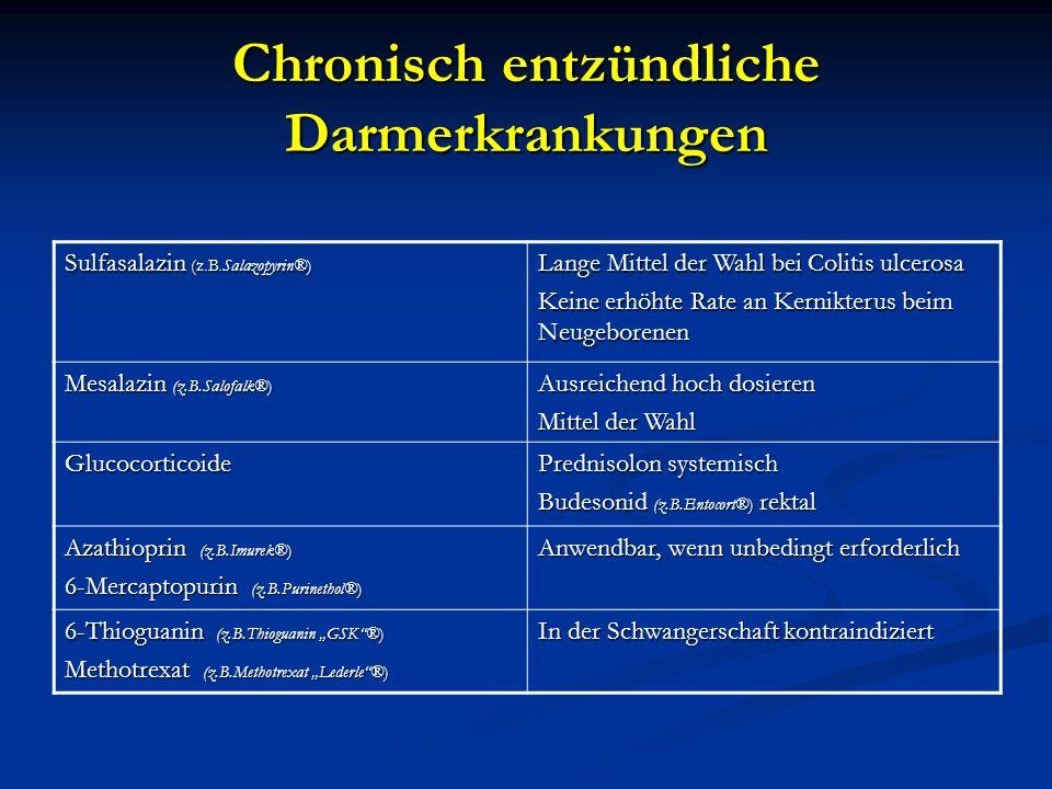 Chronisch entzündliche Darmerkrankungen