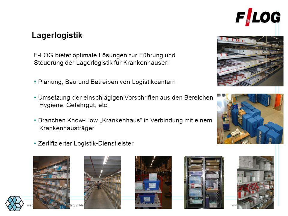 Lagerlogistik F-LOG bietet optimale Lösungen zur Führung und