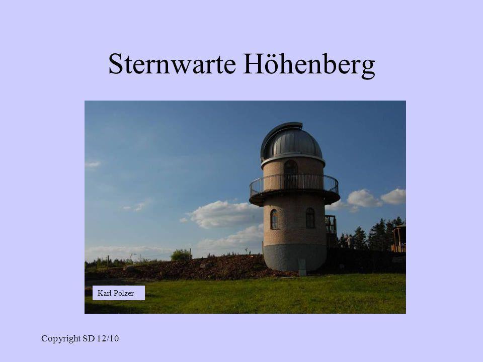 Sternwarte Höhenberg Karl Polzer Copyright SD 12/10