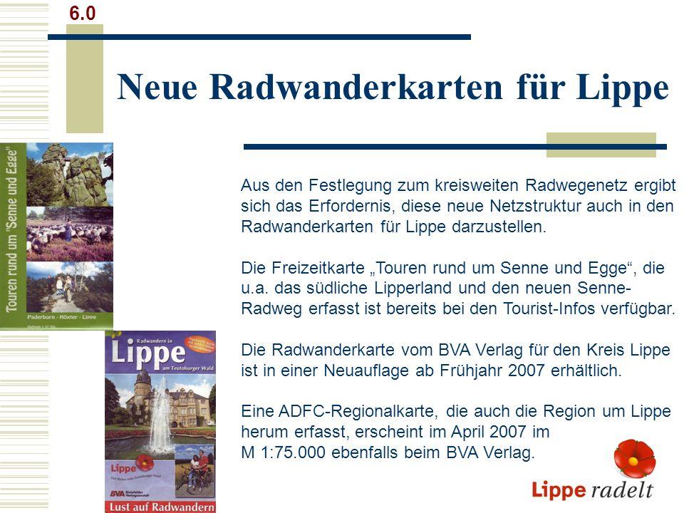 Neue Radwanderkarten für Lippe
