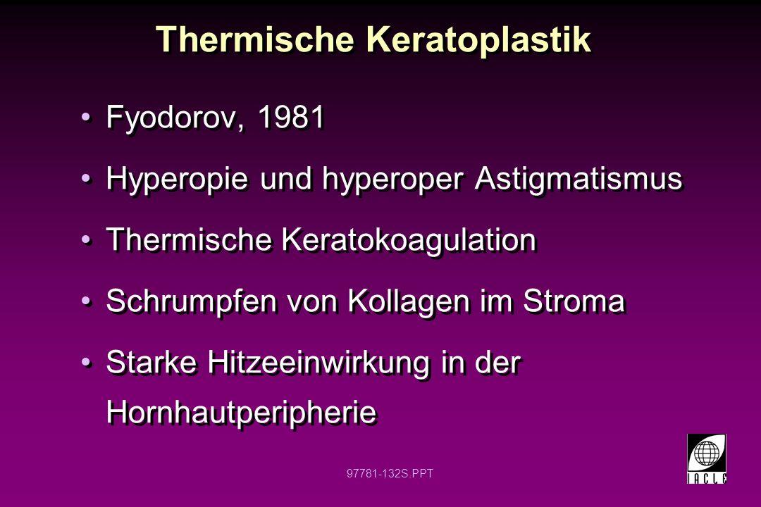 Thermische Keratoplastik