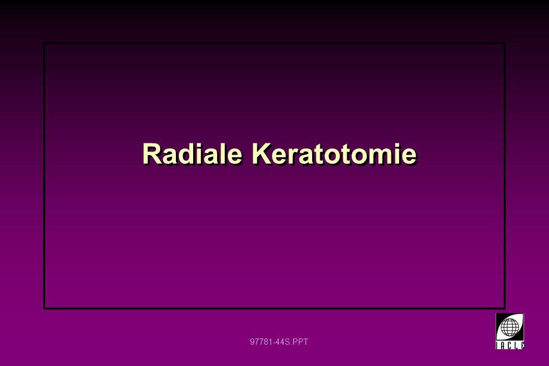 Radiale Keratotomie 6 6