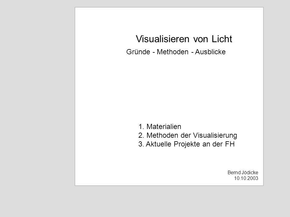 Visualisieren von Licht