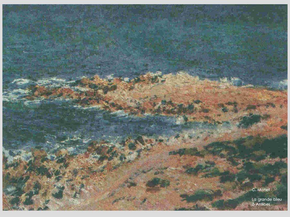C. Monet La grande bleu à Antibes