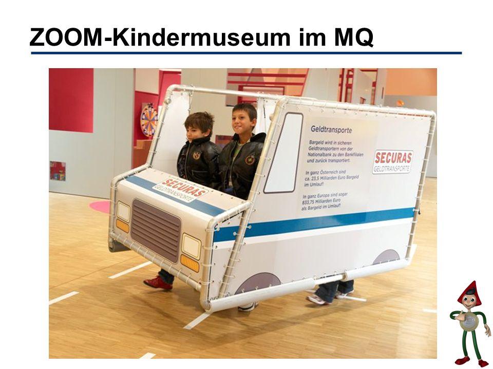 ZOOM-Kindermuseum im MQ