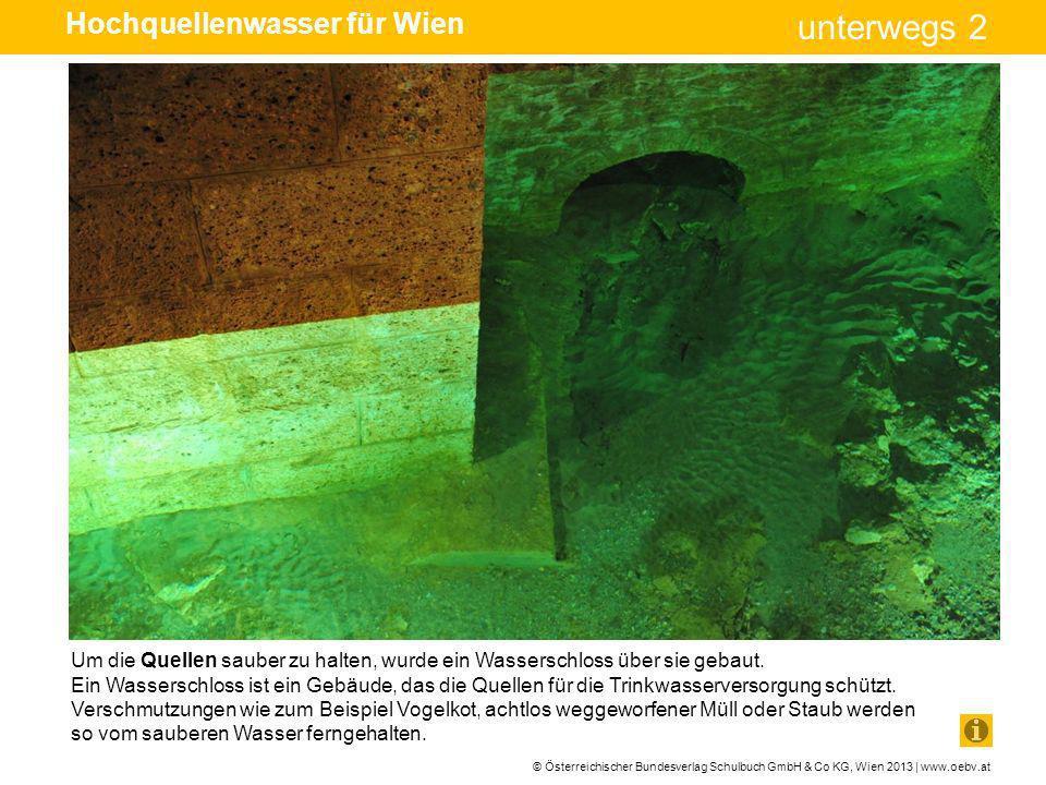 Hochquellenwasser für Wien