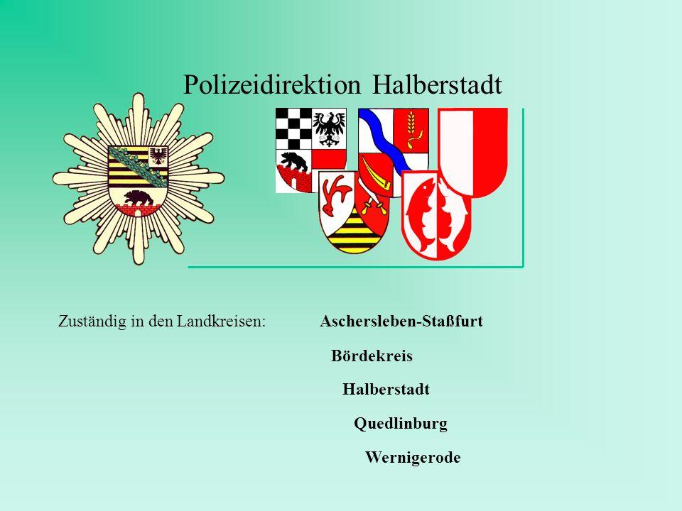 Polizeidirektion Halberstadt