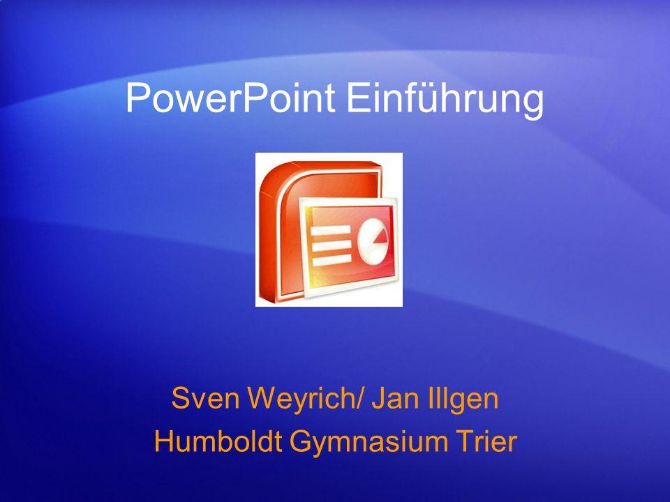 PowerPoint Einführung