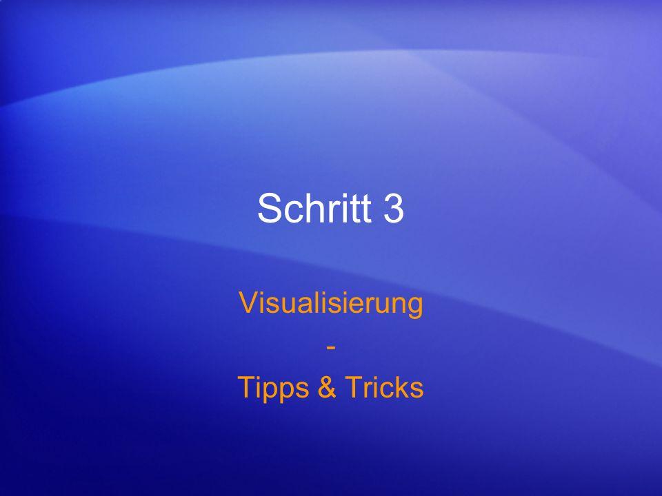 Visualisierung - Tipps & Tricks