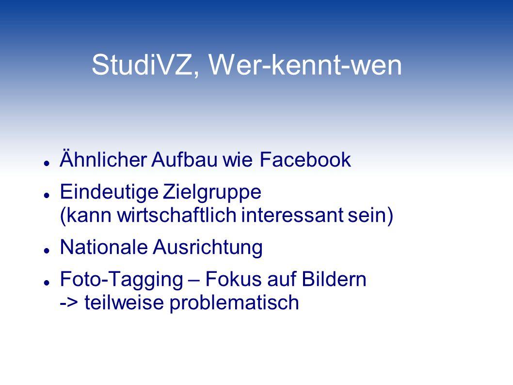 StudiVZ, Wer-kennt-wen
