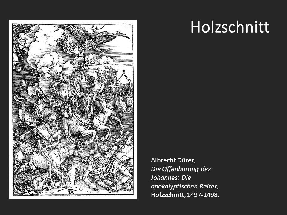 Holzschnitt Albrecht Dürer,