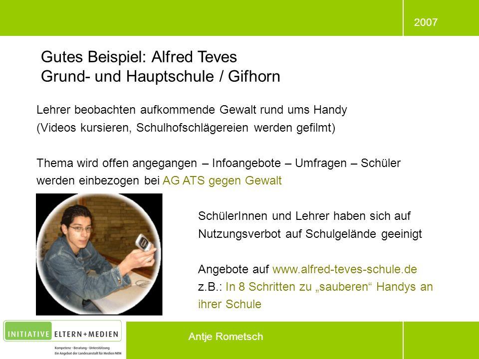 Gutes Beispiel: Alfred Teves Grund- und Hauptschule / Gifhorn