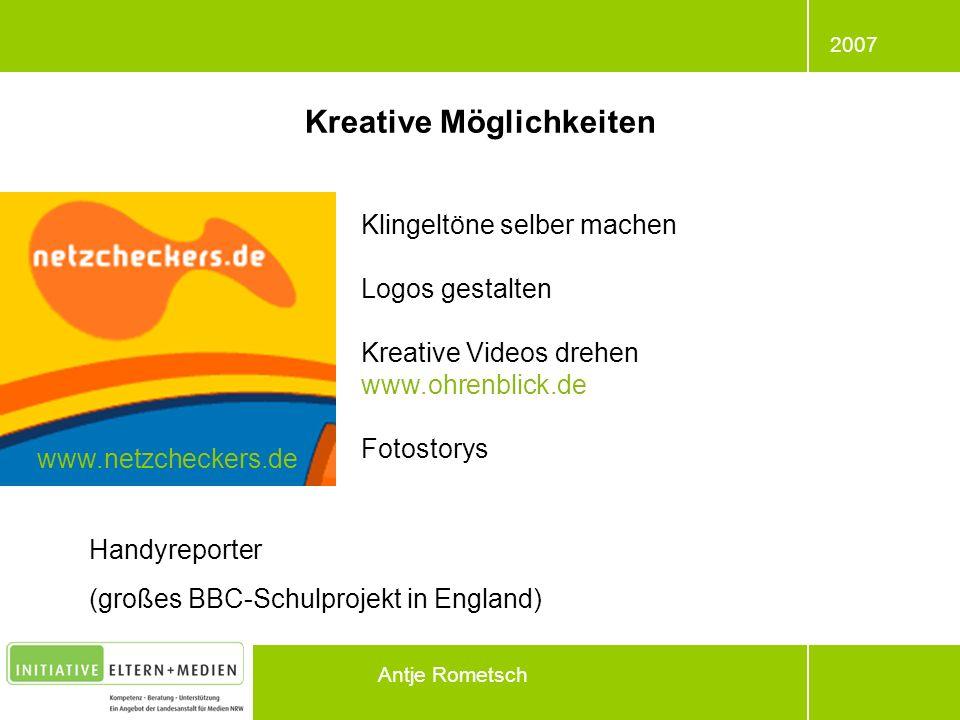 Kreative Möglichkeiten