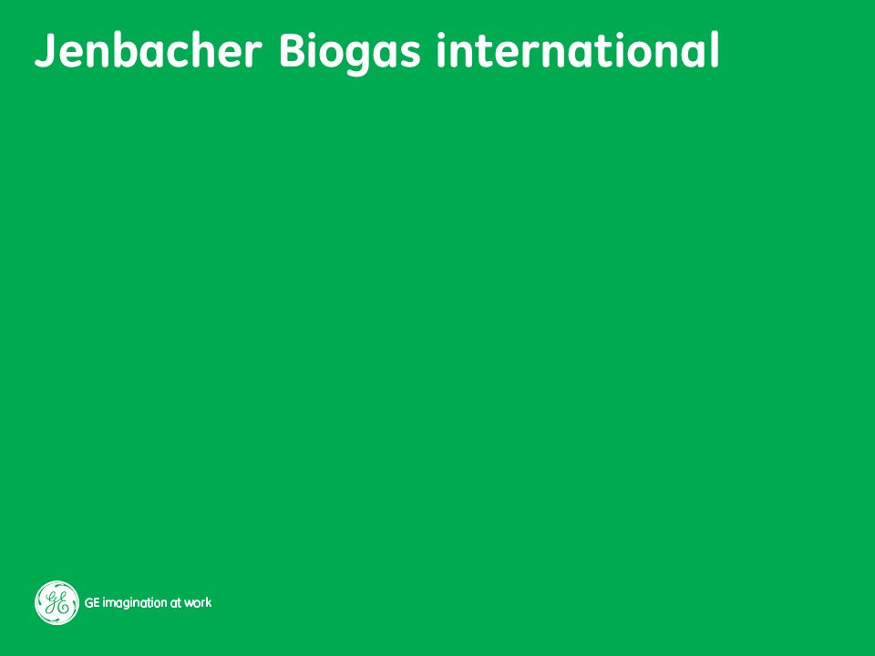 Jenbacher Biogas international