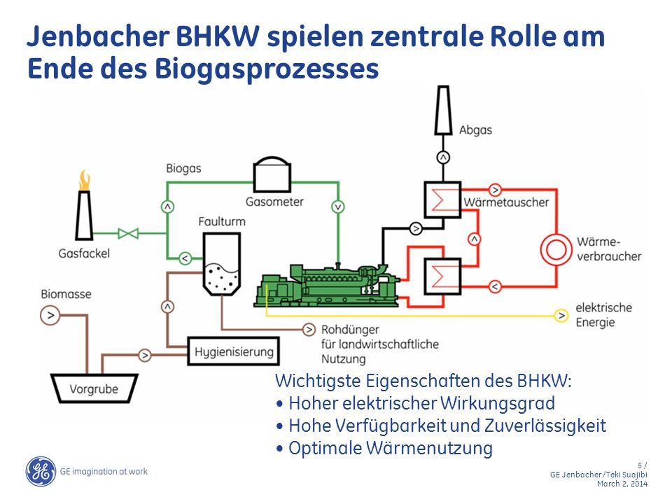 Jenbacher BHKW spielen zentrale Rolle am Ende des Biogasprozesses