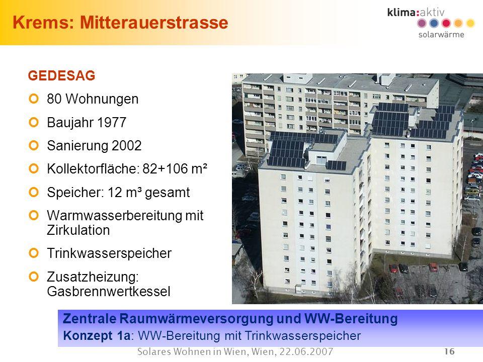 Krems: Mitterauerstrasse