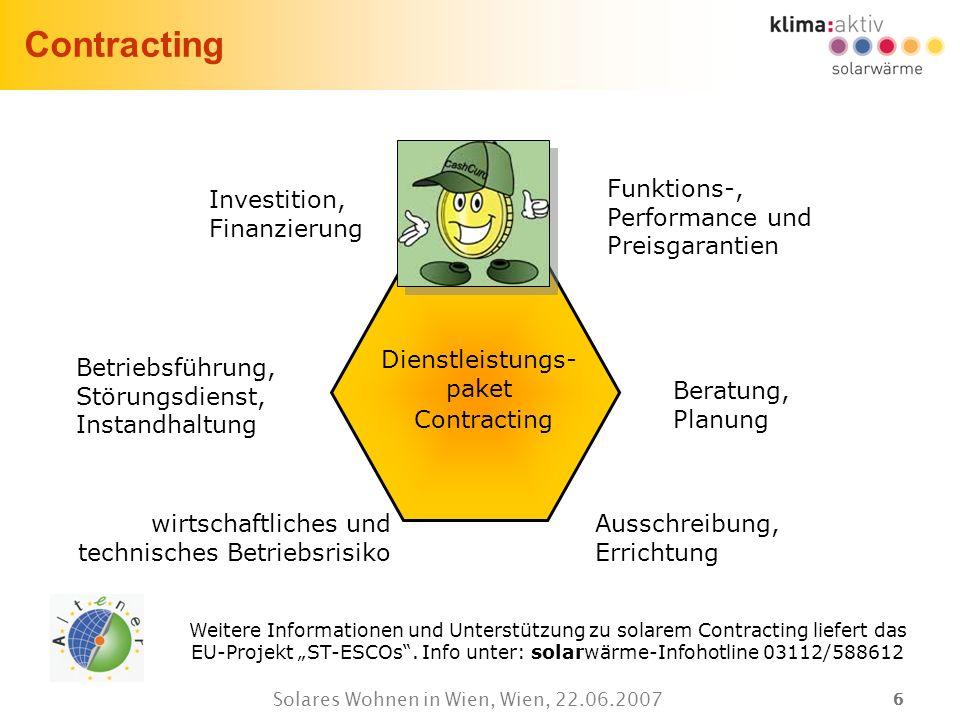 Contracting Funktions-, Performance und Preisgarantien