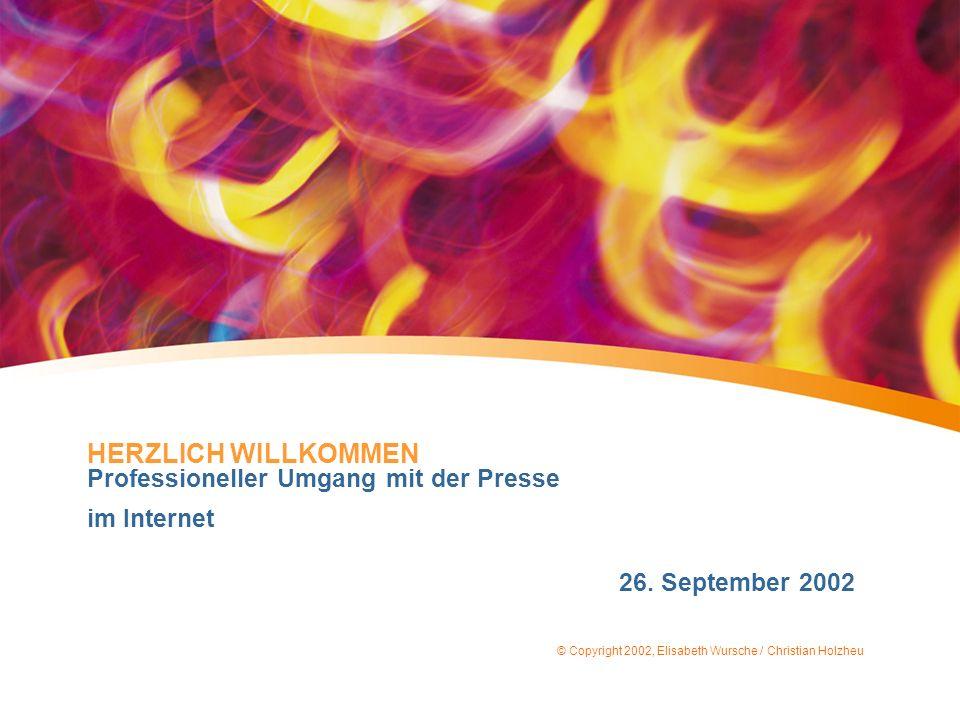 © Copyright 2002, Elisabeth Wursche / Christian Holzheu