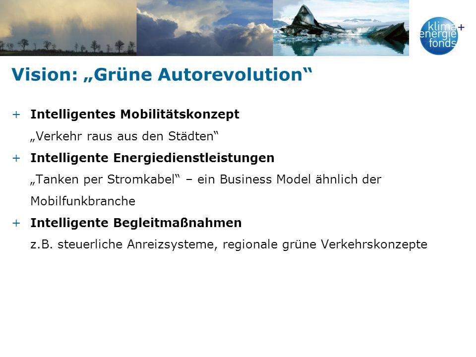"Vision: ""Grüne Autorevolution"