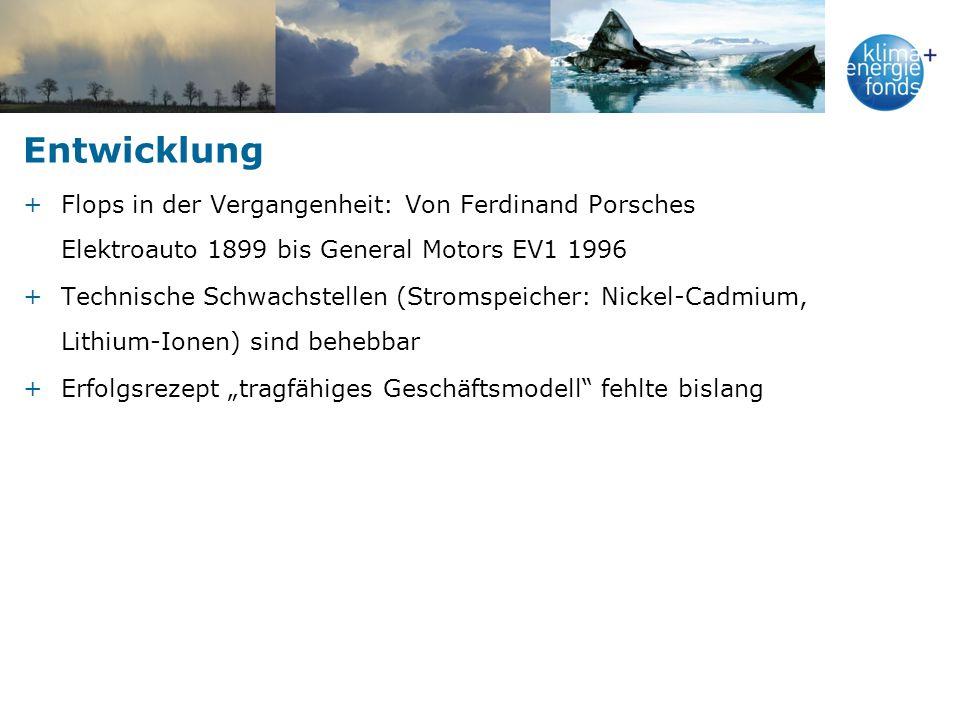 Entwicklung Flops in der Vergangenheit: Von Ferdinand Porsches Elektroauto 1899 bis General Motors EV1 1996.