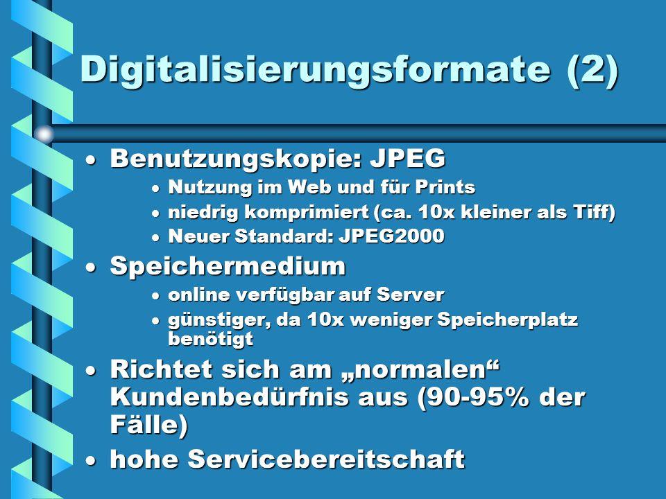 Digitalisierungsformate (2)
