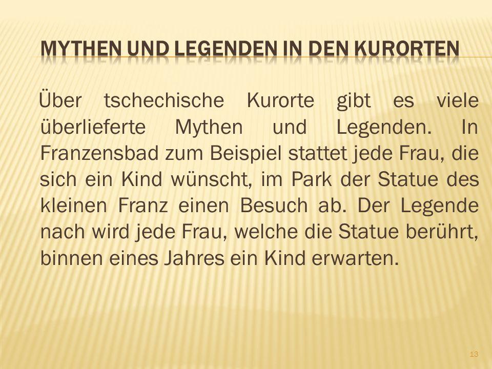 Mythen und Legenden in den Kurorten