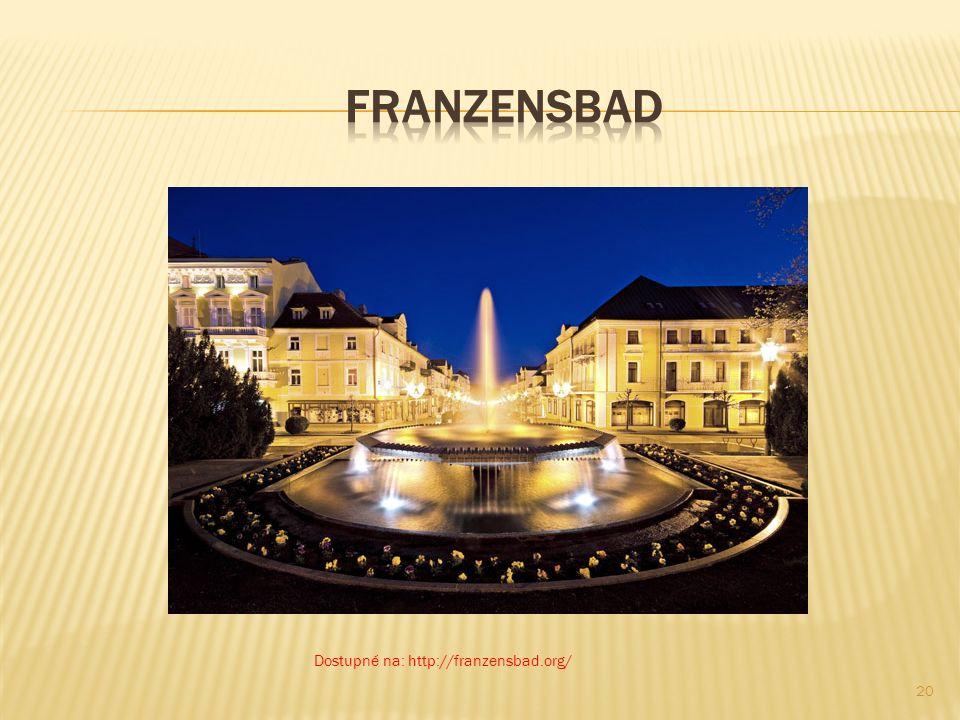 Franzensbad Dostupné na: http://franzensbad.org/