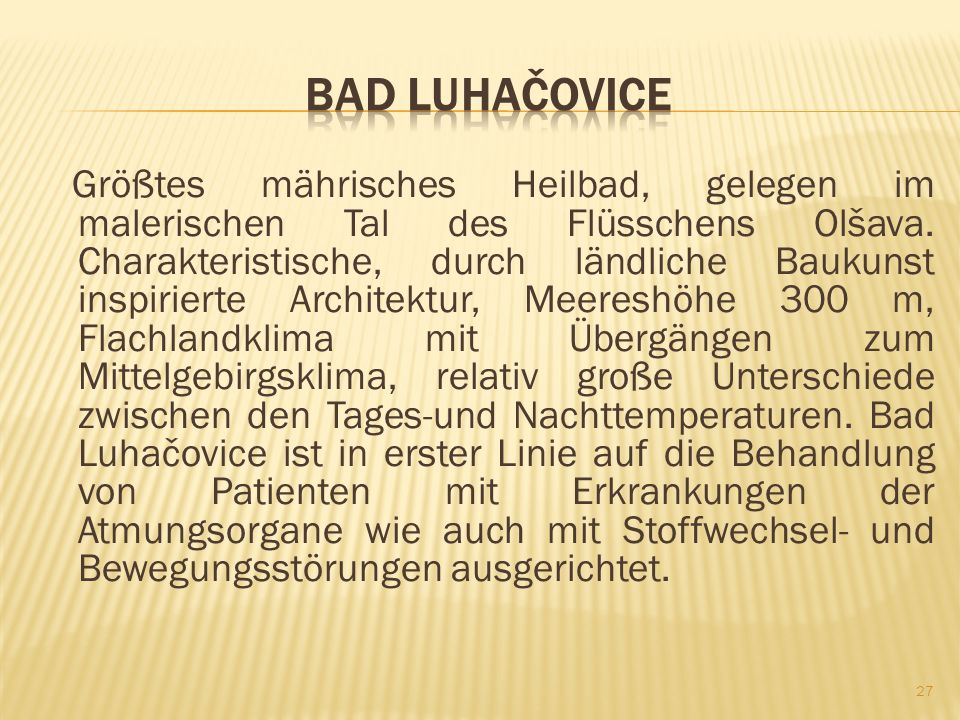 Bad Luhačovice