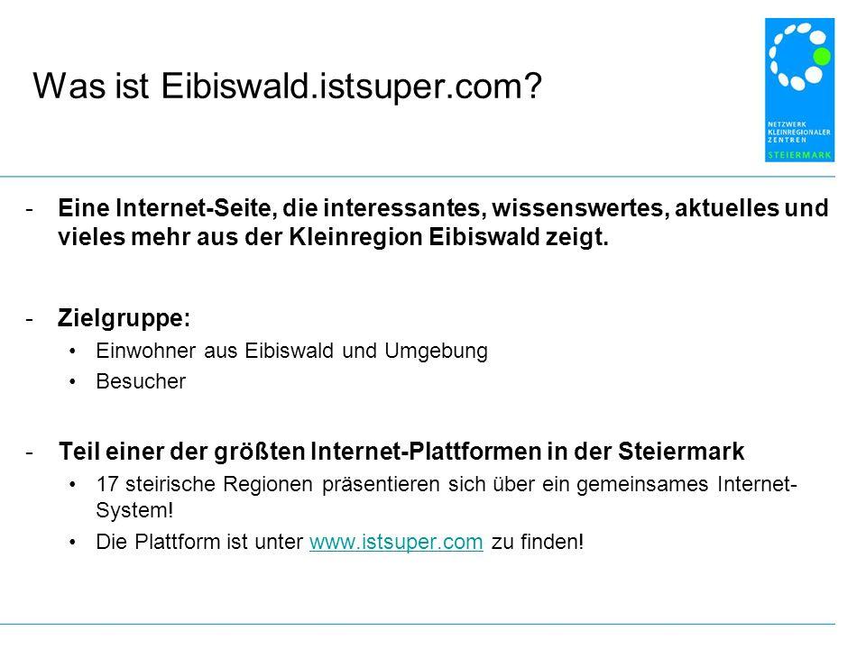 Was ist Eibiswald.istsuper.com