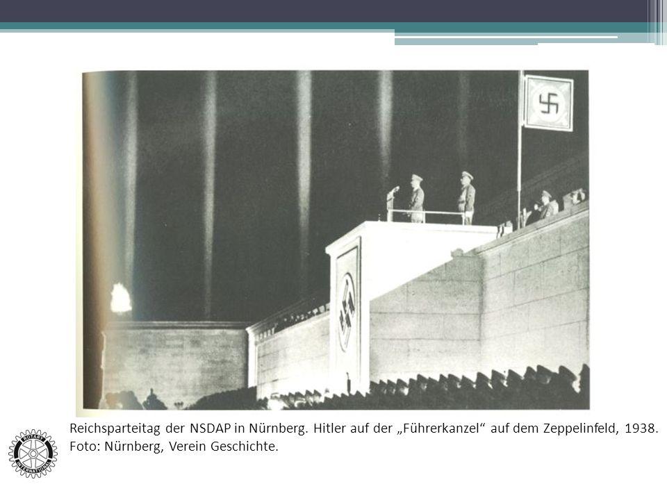 Reichsparteitag der NSDAP in Nürnberg