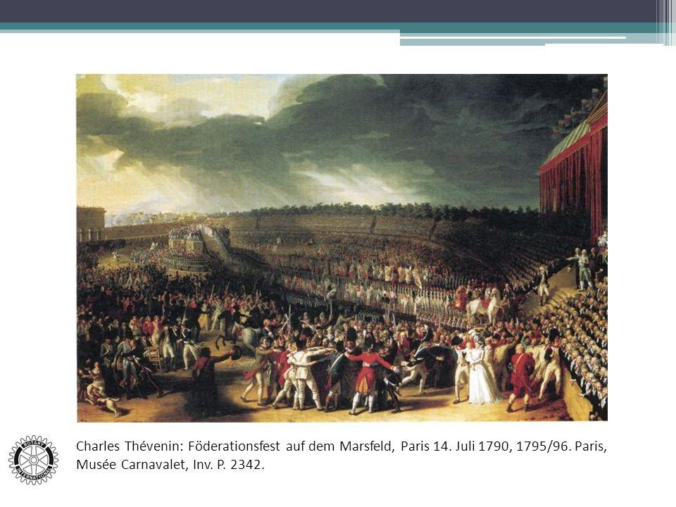 Charles Thévenin: Föderationsfest auf dem Marsfeld, Paris 14