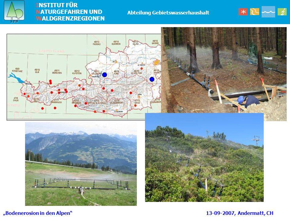 """Bodenerosion in den Alpen 13-09-2007, Andermatt, CH"