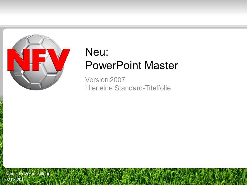 Neu: PowerPoint Master