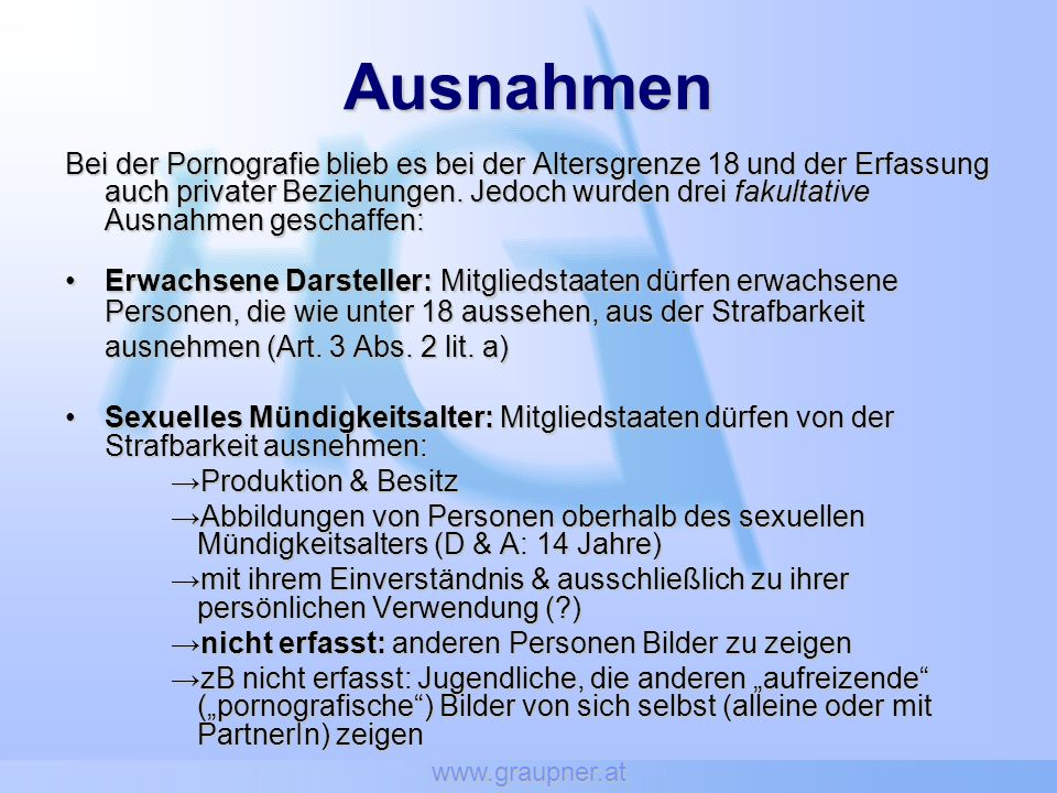 www.graupner.at Ausnahmen.