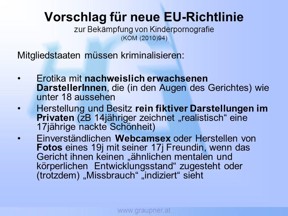 Vorschlag für neue EU-Richtlinie
