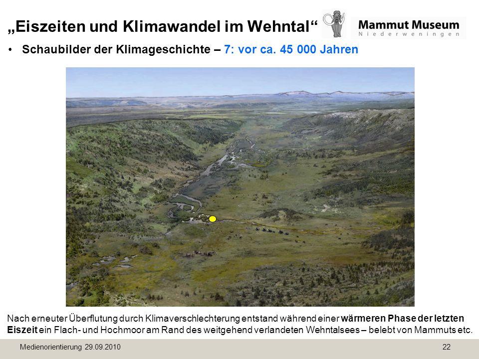 """""""Eiszeiten und Klimawandel im Wehntal"""