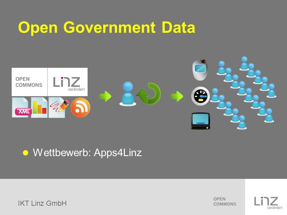 Open Government Data Wettbewerb: Apps4Linz