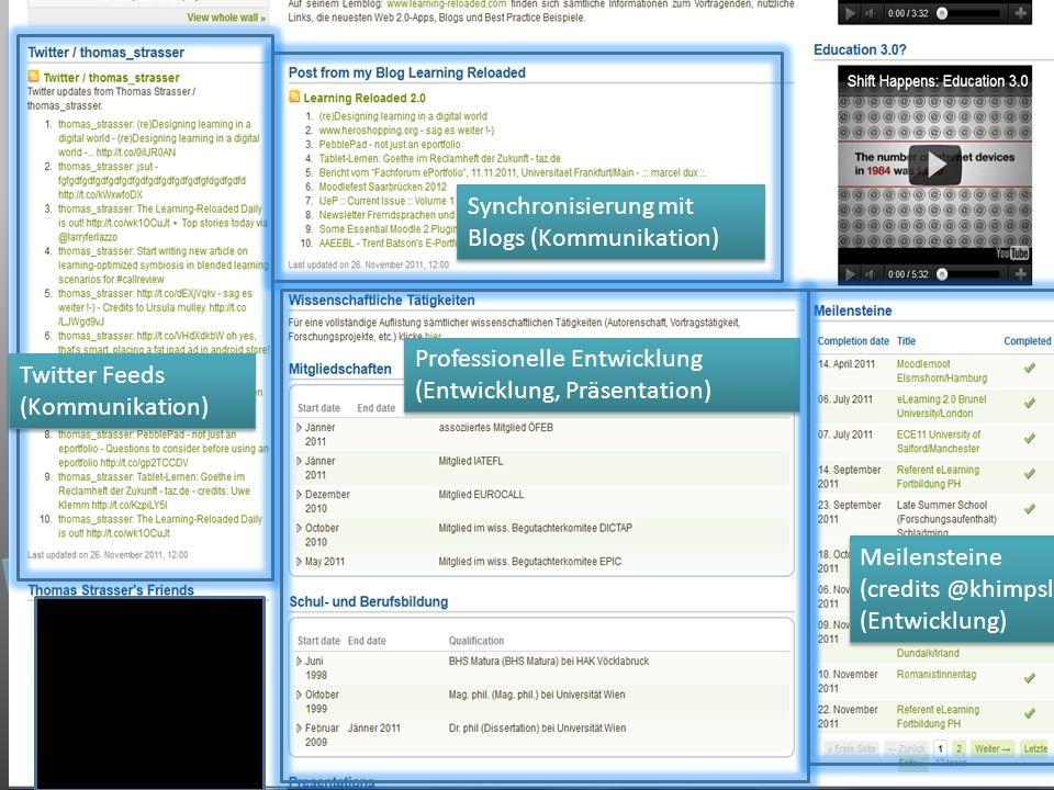 Synchronisierung mit Blogs (Kommunikation)