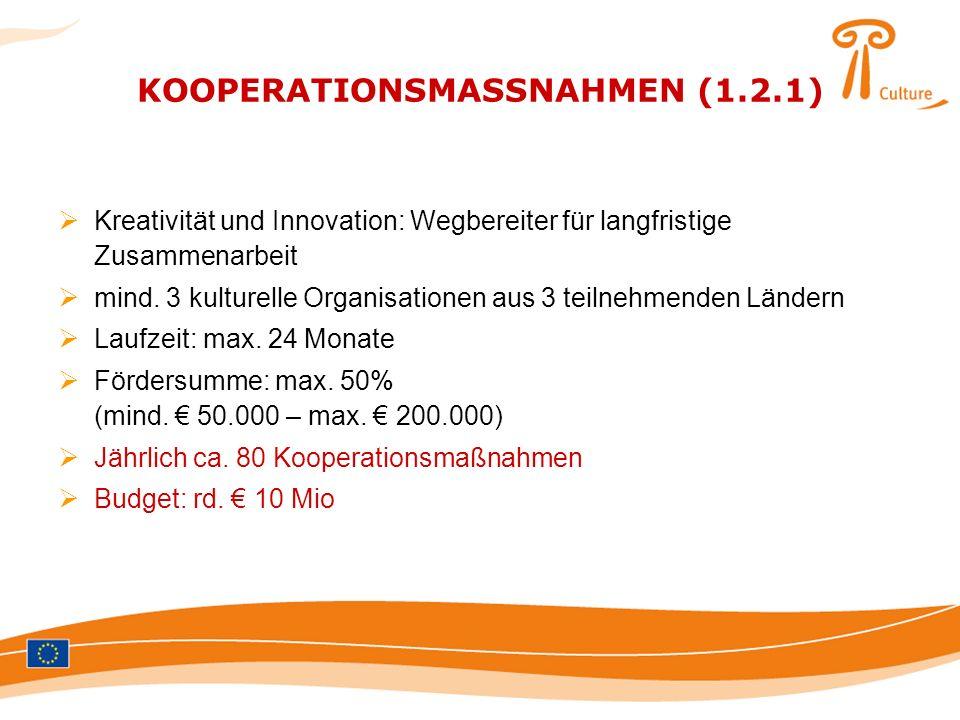 KOOPERATIONSMASSNAHMEN (1.2.1)