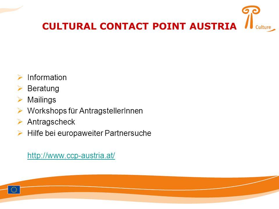 CULTURAL CONTACT POINT AUSTRIA