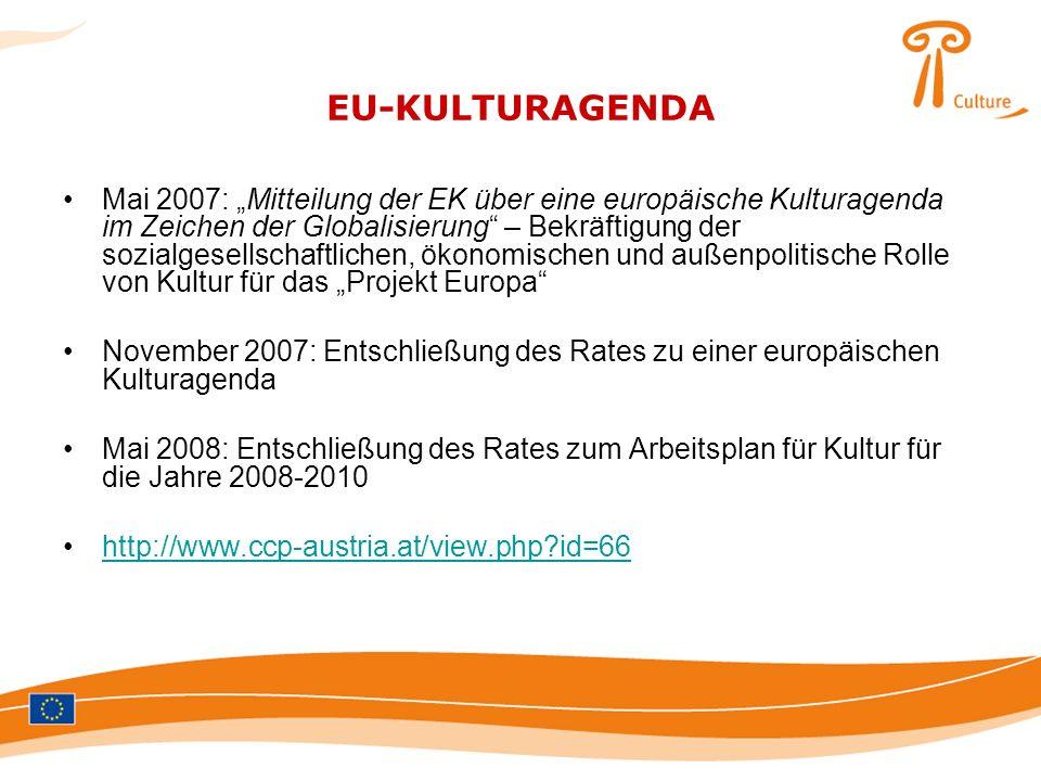 EU-KULTURAGENDA