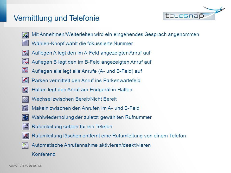Vermittlung und Telefonie