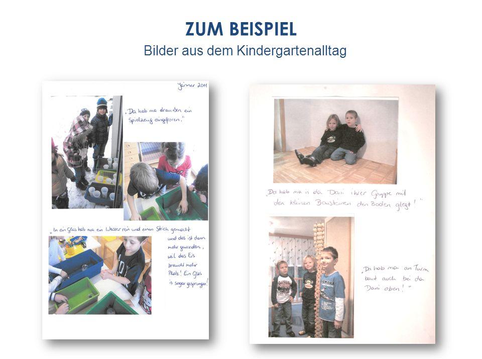 Bilder aus dem Kindergartenalltag